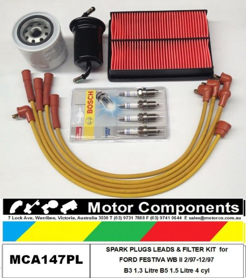 small resolution of leads plug filter kit ford festiva wb wd b5 1 5 litre 1 97 12 97 painless wiring harness 10101 ford festiva 1 3l wiring harness