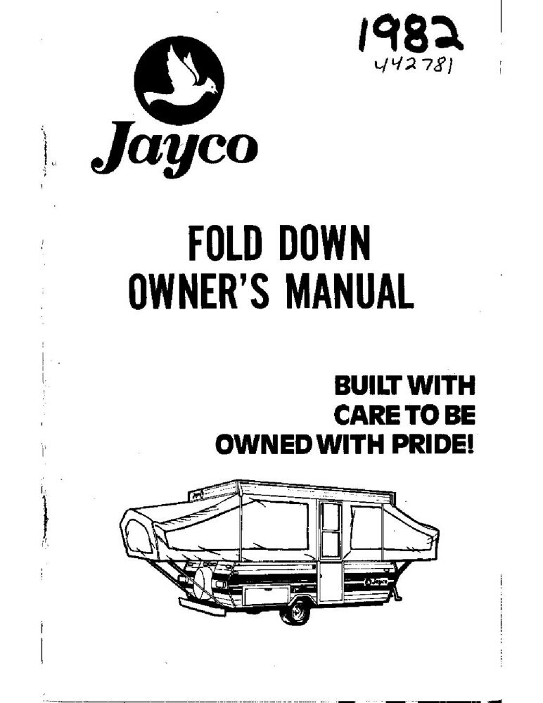 1982 Jayco Jay Flight FeatherLite Popup Trailer Owners