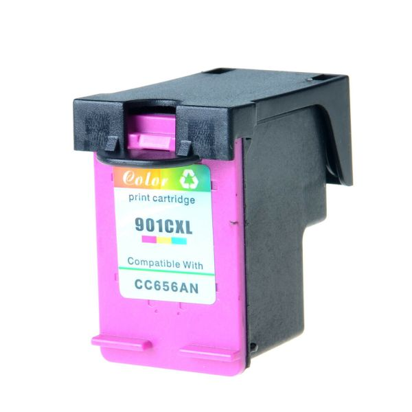 Compatible Hp 901xl Color Ink Cartridge Cc656a Officejet 4500 4580 Printer