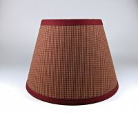 Country Primitive Burgundy Mini Check Homespun Fabric ...