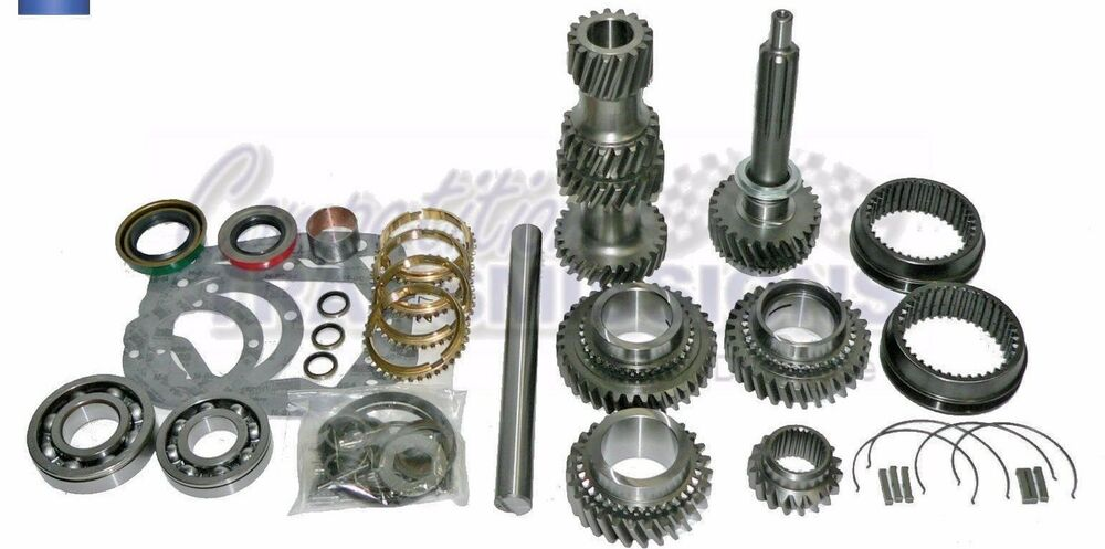 Muncie Gear Deluxe Kit M20 M21to M22 NEW Gears Bearings