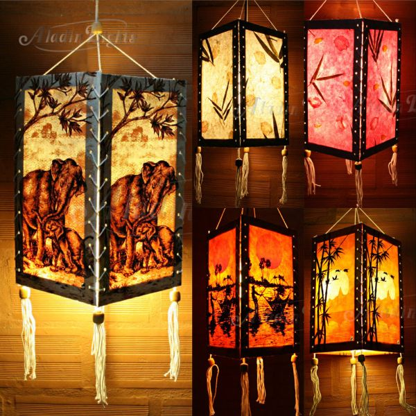 Aladin Hanging Lamp Lampshade Asian Oriental Home Garden