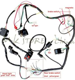 complete electrics atv quad250cc coil cdi harness wiring 49cc engine diagram 49cc bicycle engine wiring diagram [ 1000 x 1000 Pixel ]
