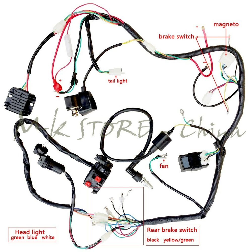 medium resolution of can get wiring x 4 stroke 110cc at your localauto store if they do have diagram on hand kid kids youth welcome our 110cc four wheeler section pit bike