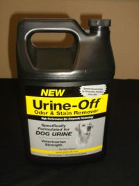 URINE OFF ODOR STAIN REMOVER DOG FORMULATE Deodorizer ...