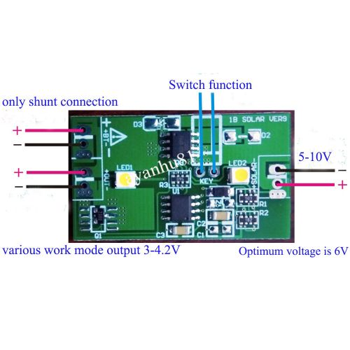 small resolution of 1a solar panel controller 3 7v lithium battery charging solar panel wiring diagram wiring solar panels