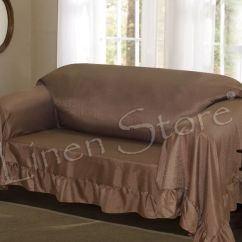 Quilted Microsuede Sofa Cover Lounger Bed Venice Furniture Throw Cover, Protector ...
