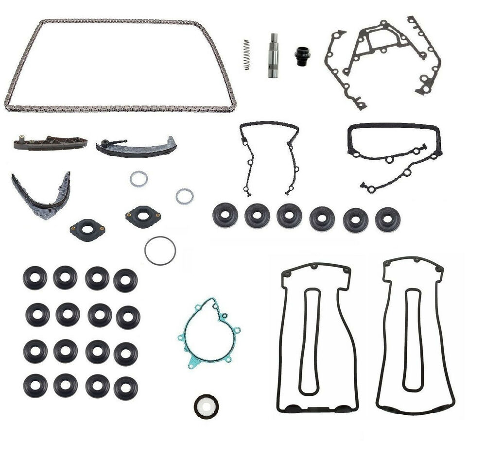 OEM Quality Timing Chain Tensioner Seal Guide Kit BMW E53