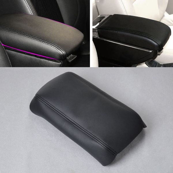 Leather Center Console Armrest Lid Cover Honda Accord