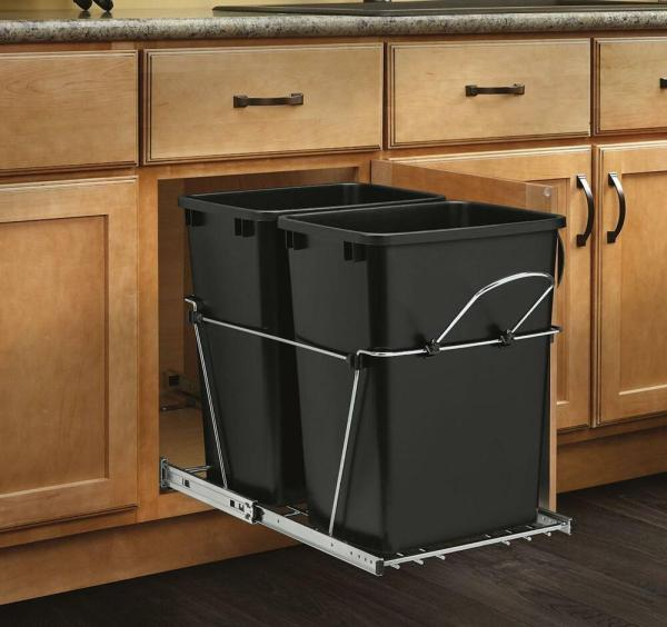 Kitchen Cabinet Pull Out Trash Can