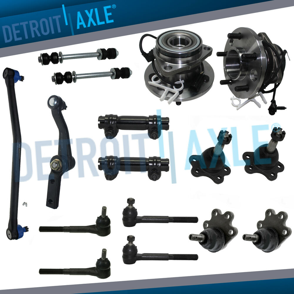 hight resolution of details about brand new 17pc complete front suspension kit 95 02 chevy astro gmc safari awd