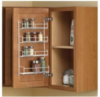 Door Mount Spice Holder Rack Kitchen Cabinet Organizer ...