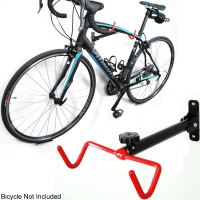 Single Bike Bicycle Wall Mount Folding Display Rack Frame ...