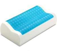 PharMeDoc Contour Memory Foam Comfort Cooling Gel Pillow ...