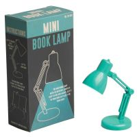 dotcomgiftshop MINI BOOK READING LED LIGHT LAMP GREEN | eBay