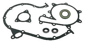 3.7L Water Pump Timing Cover Gasket Set Kit Mercruiser 3.7