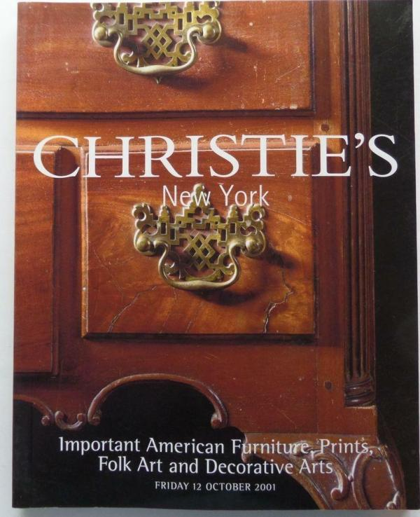 Christie' Auction Catalog Mitchell-9746 American Art