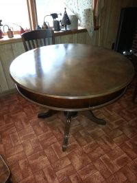 Antique Table/ Poker/round/game table