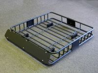 220 Lbs Universal Black Steel Cargo Carrier Roof Rack