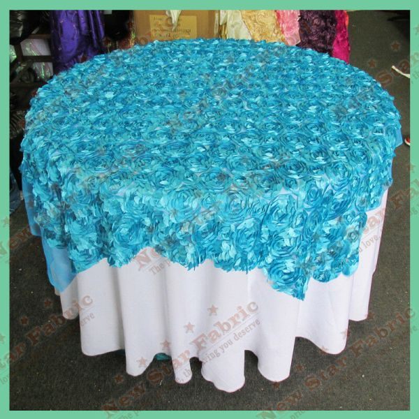 Table Overlay Lotus Flower Mesh 54 X Inches Square