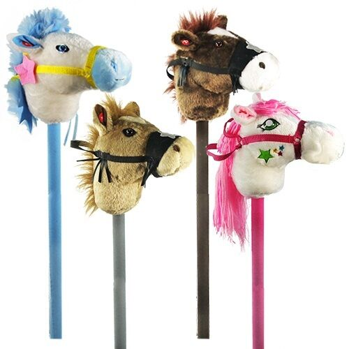 LOT OF 12X Electronic Stick Horse Pony Ride On Wood Toy