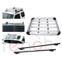 New Aluminum Car Roof Cargo Carrier Luggage Basket Rack ...