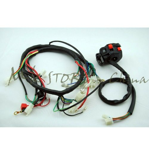 small resolution of details about engine ac wiring harness 150cc 250cc pit quad dirt bike atv buggy switch lifan