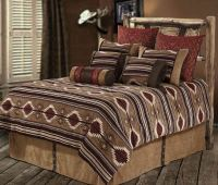 NEW Western Rustic Country Southwest Navajo Comforter 7