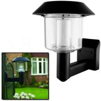 Bright LED Solar Powered Fence Gate Wall Lamp Post Light