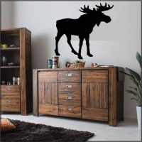 Moose Wall Home Decal Sticker Wall Decor Country Living ...
