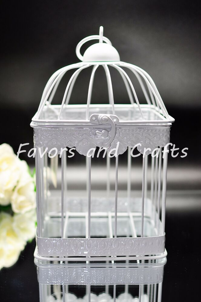 Retro Bird cage Lantern Wedding Rustic Vintage Centerpiece Set of 2  eBay