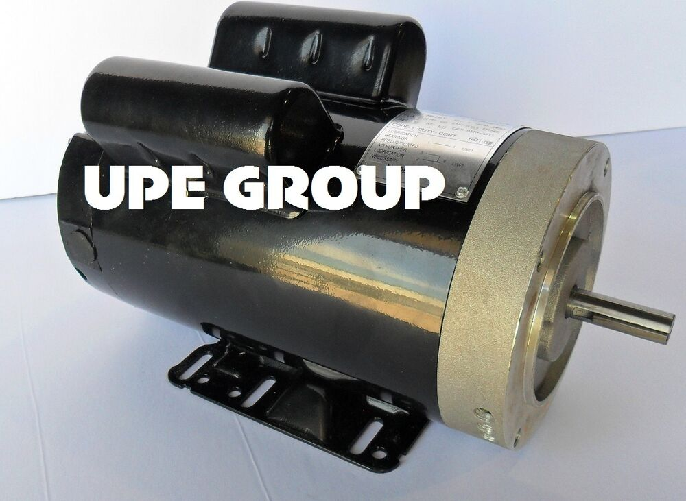5hp 3450 Rpm Air Compressor Electric Motor 208230 Volts New Century