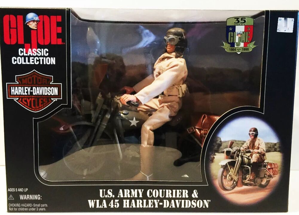 BRAND NEW GI JOE CLASSIC COLLECTION US ARMY COURIER