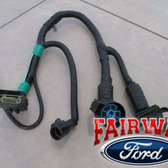 Ford 4 Pin Trailer Wiring Diagram Gmc Jimmy Stereo 05 Thru 07 F-150 Oem Genuine 7-pin Tow Harness Connector New | Ebay