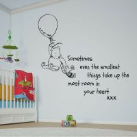 Disney Winnie the Pooh Balloon Quote Large Wall Sticker ...