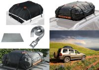 Keeper Cargo Bag, Roof Mat, Lashing Strap Bundle FOR USE ...