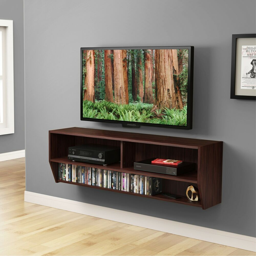 TV Stand Floating Furniture Entertainment Center Wall