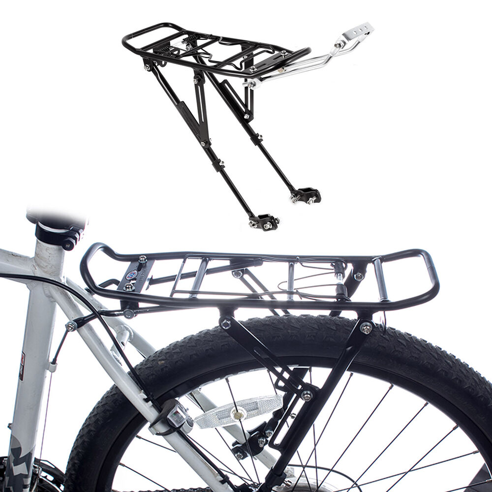 Bike Bicycle Cycling Quick Release Rear Rack Seat Post