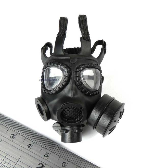 1 6 Scale M40 Gas Mask Hot Toys Nbc Warfare Special
