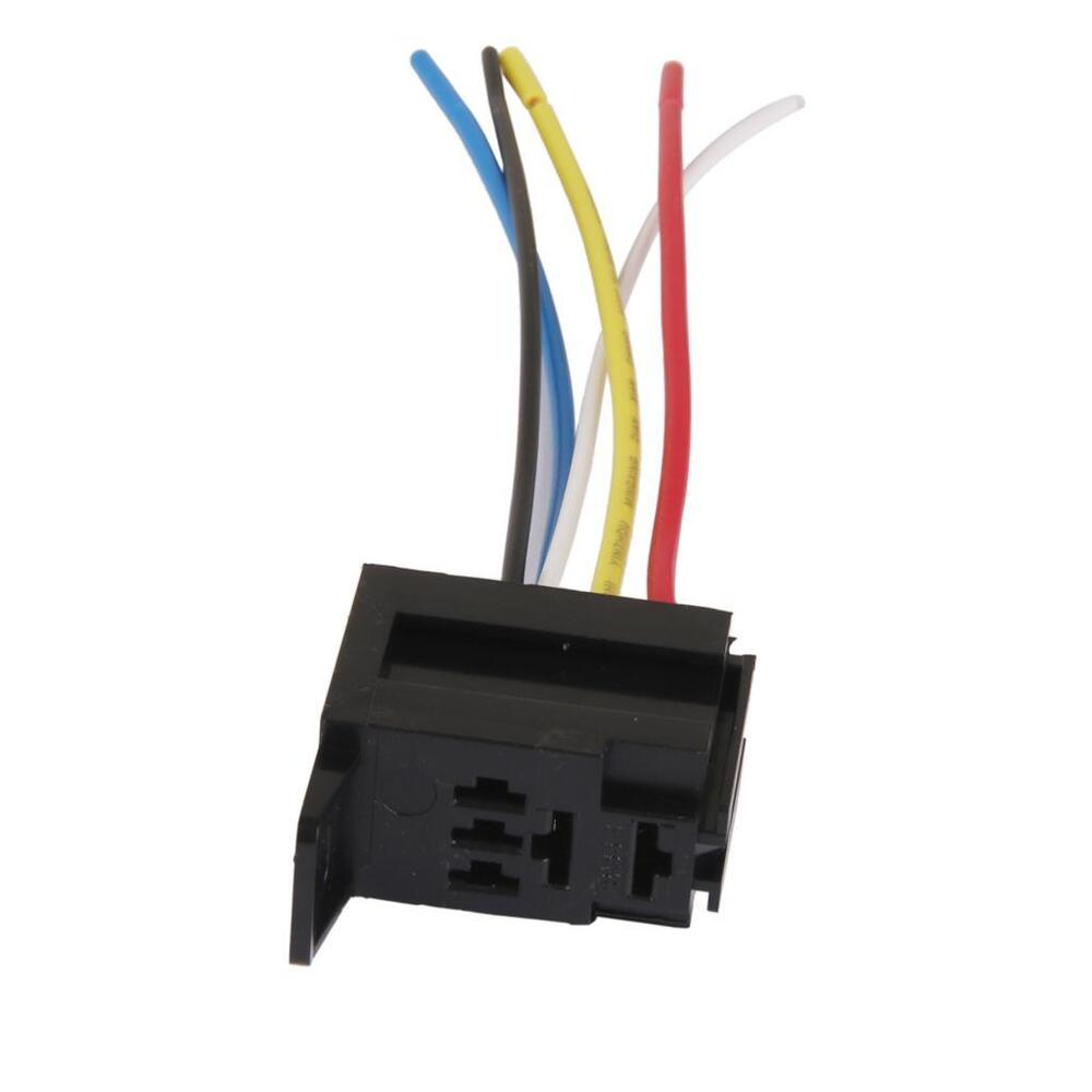 hight resolution of details about car 12v 12 volt dc 20a 30a amp relay harness socket connectors 5pin 5 wire