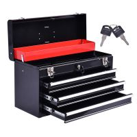 New Portable Tool Chest Box Storage Cabinet Garage ...
