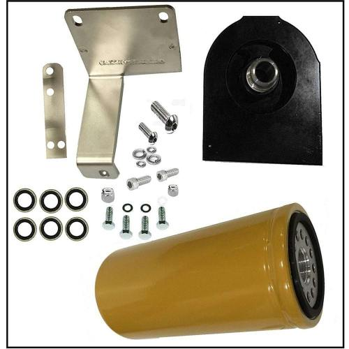 small resolution of details about 2004 5 2007 dodge ram 5 9l fits cummins diesel 5 9 cat fuel filter adapter kit