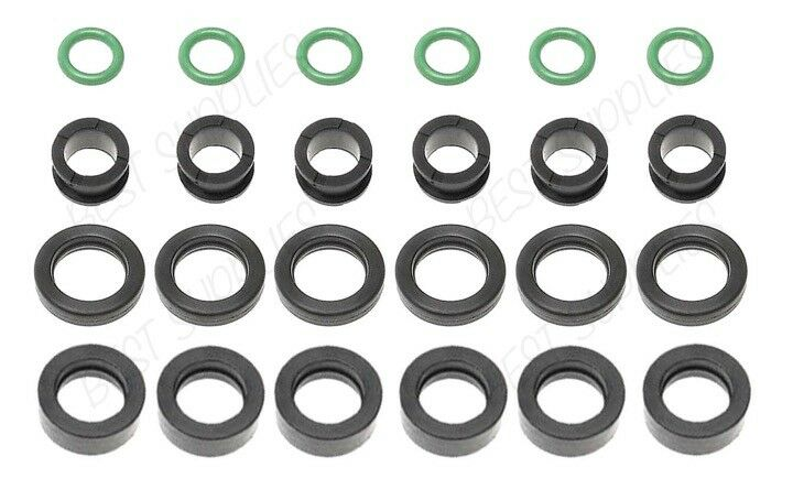 FUEL INJECTOR REPAIR KIT O-RINGS FILTERS GROMMETS SEALS