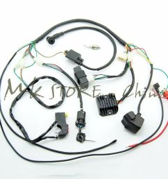 details about complete electrics wiring harness chinese dirt bike 150 250cc zongshen loncin [ 1000 x 1000 Pixel ]