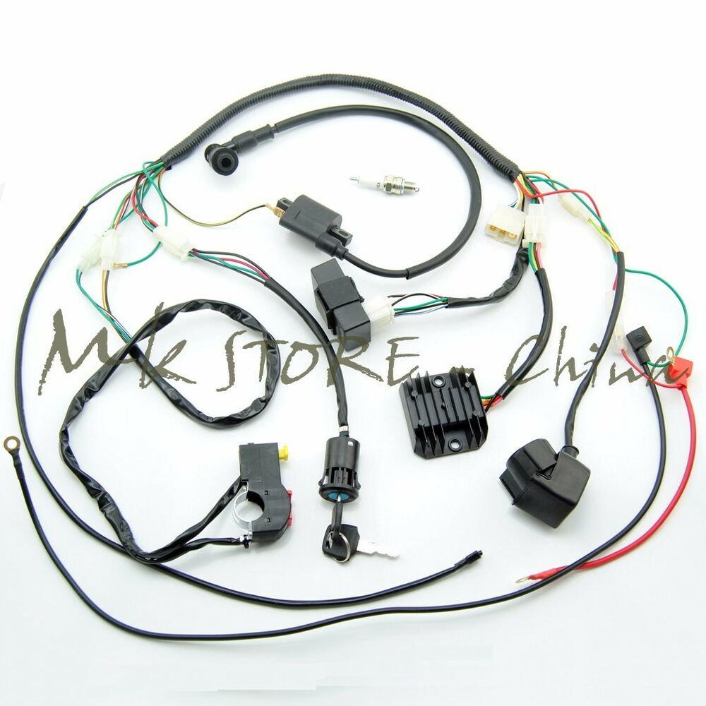 hight resolution of details about complete electrics wiring harness chinese dirt bike 150 250cc zongshen loncin