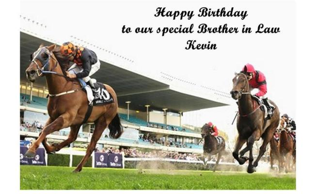 Horse Racing A5 Birthday Card Personalised Brother Dad