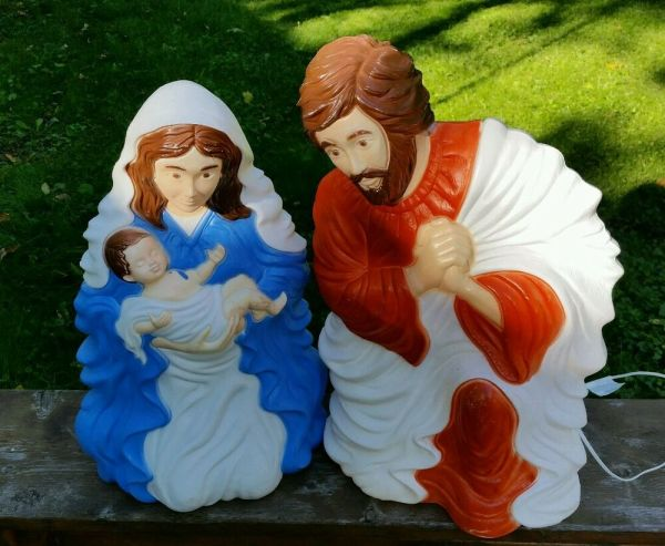 Grand Venture Blow Mold Nativity Scene 28