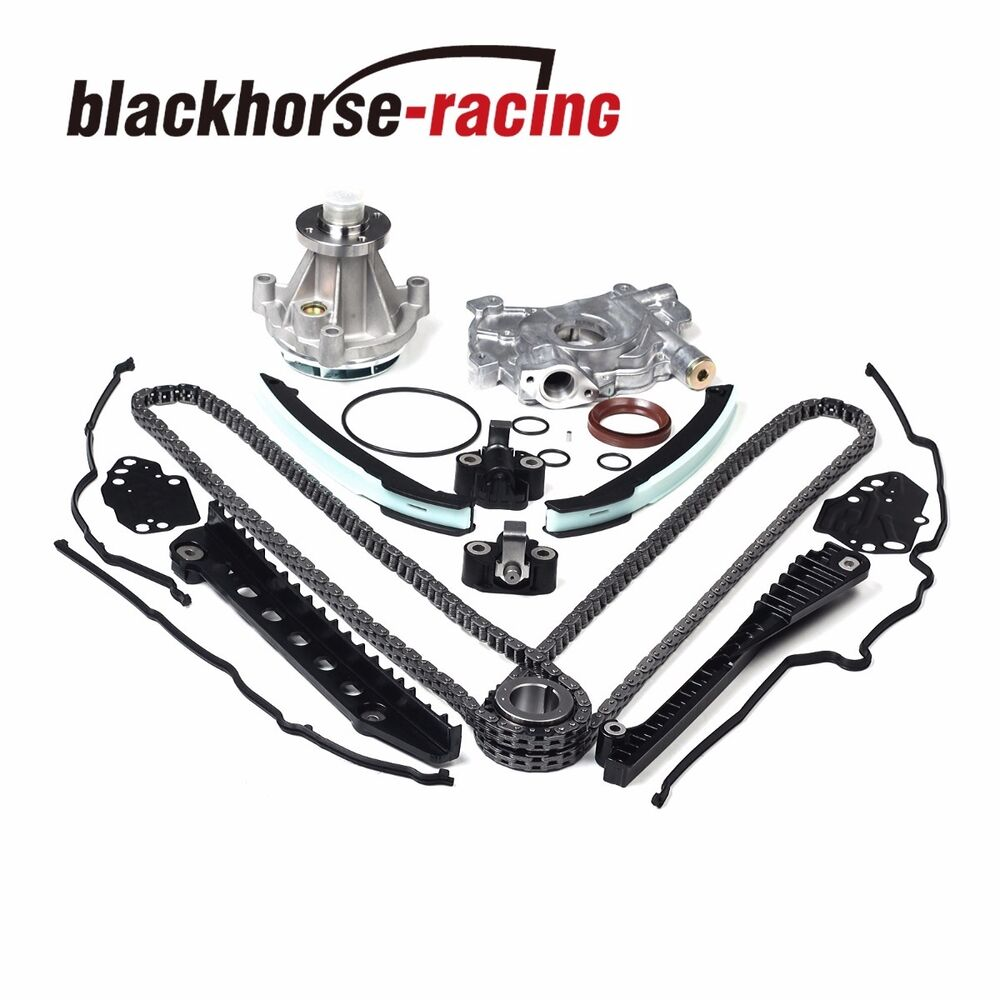 Timing Chain Oil&Water Pump+Cover Gasket 04-08 For Ford