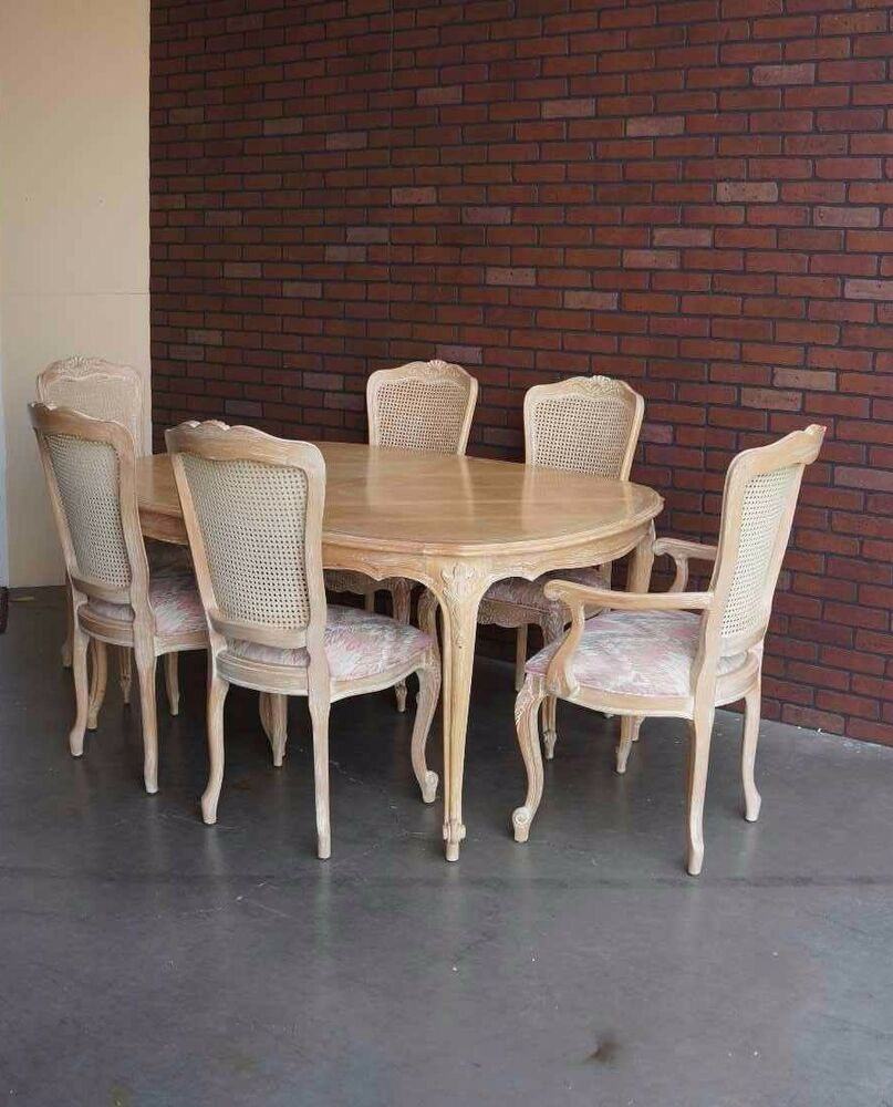 Country French Dining Set Dining Table French Provincial