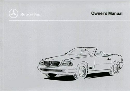 OWNERS MANUAL 1997 MERCEDES SL SL500 SL320 SL600 DRIVERS